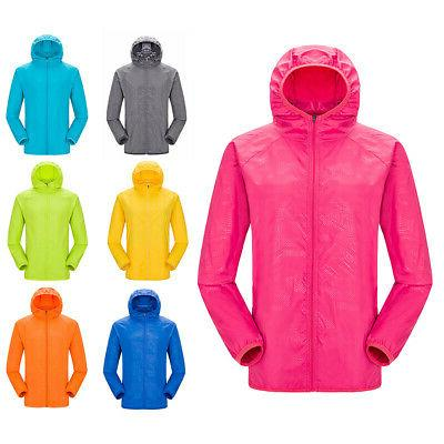 unisex men women waterproof windproof jacket outdoor