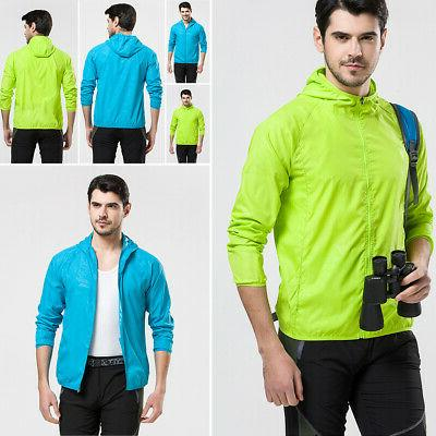 Unisex Windproof Jacket Bicycle Sports Rain