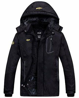 womens mountain waterproof fleece ski jacket windproof