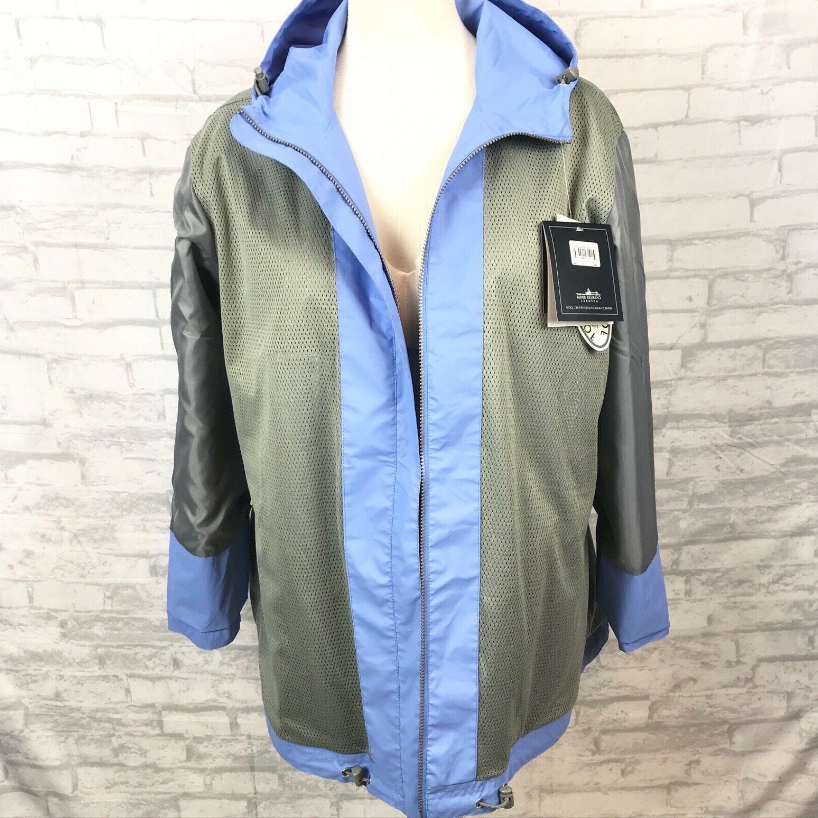 Charles New Englander Waterproof Rain Jacket Plus 3X