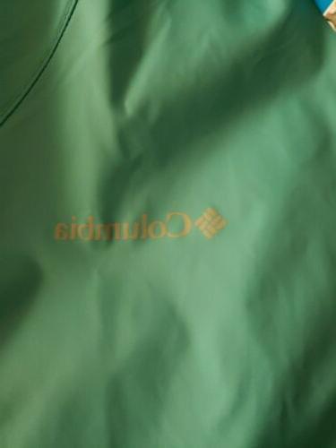 Columbia Womens Rain Jacket Full Zip