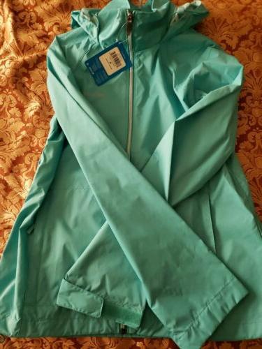 Columbia Womens Jacket Teal Full Zip
