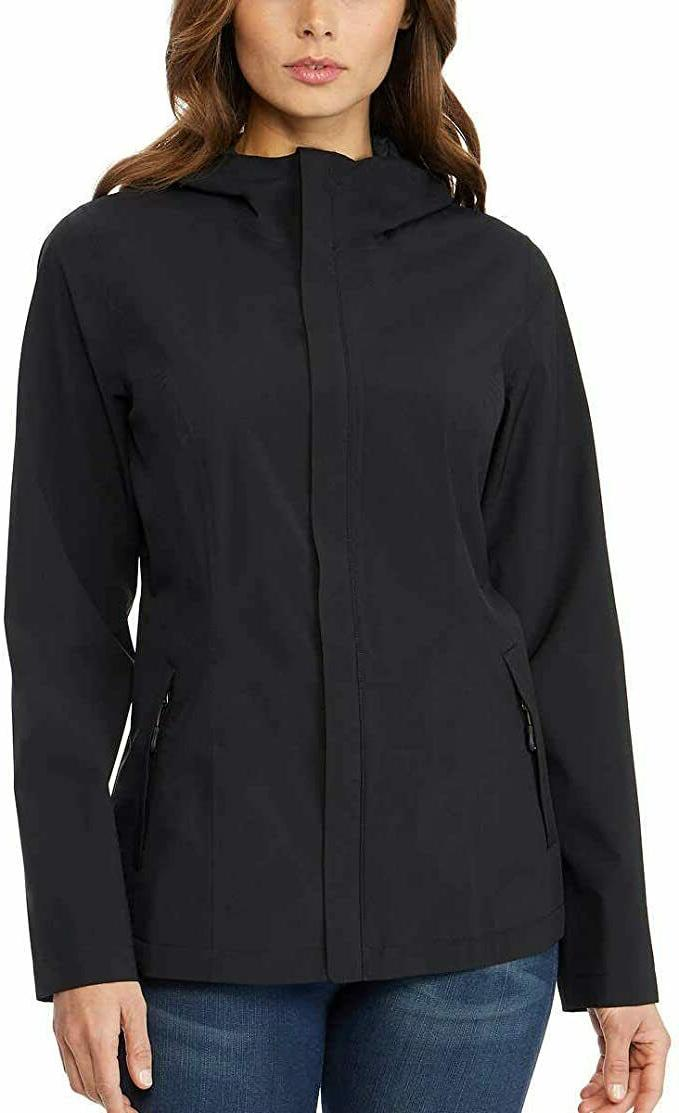 womens rain jacket coat weatherproof