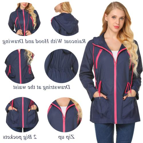 LOMON Waterproof Jacket Hooded