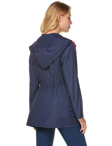 LOMON Waterproof Jacket Windbreaker Hooded