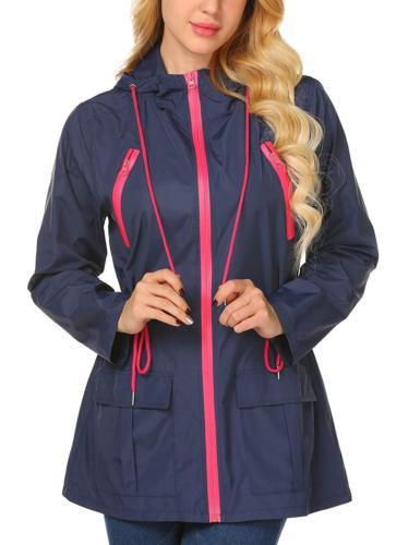 womens raincoat lightweight waterproof jacket windbreaker ou