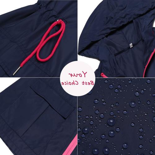 LOMON Waterproof Jacket Windbreaker Outdoor Hooded