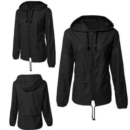Womens Raincoat Jacket Coat
