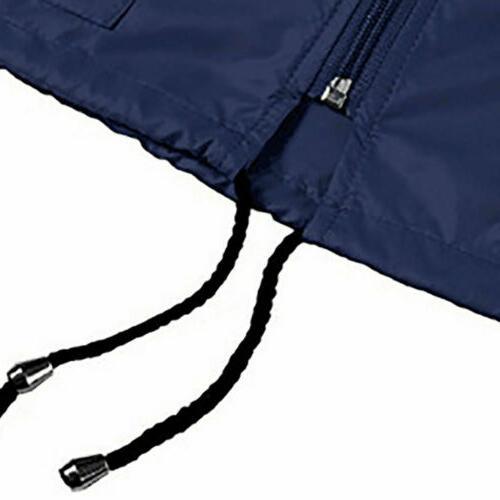Womens Waterproof Jacket Hooded Rain Coat Outdoor