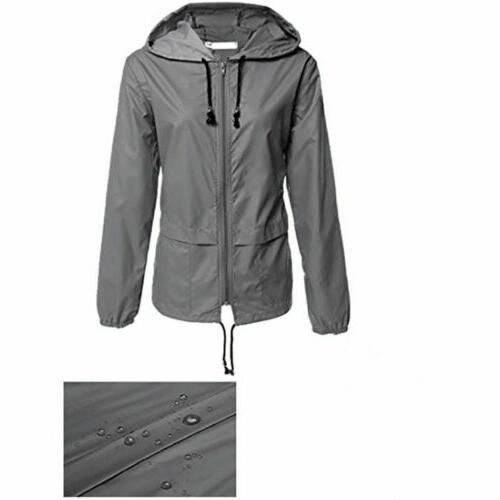 Womens Raincoat Coat Outdoor