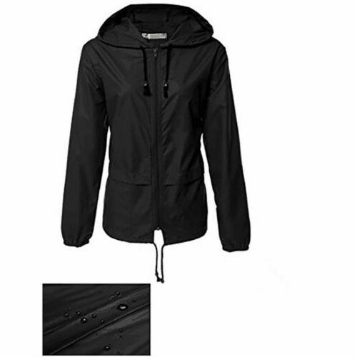 Women Outdoor Windbreaker Rain Coat