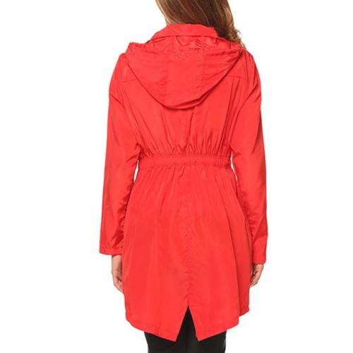 Womens Trench Coat Raincoat For Outdoor Rain
