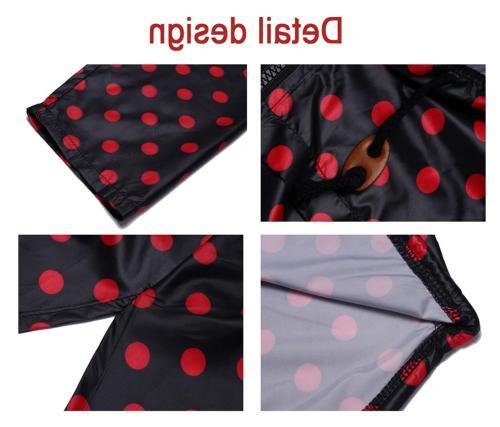 ZHENWEI Waterproof Trench Raincoat,Hooded Outdoor Dot