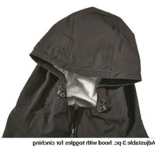XL Mens 100% Waterproof Breathable Rain Jacket Suit Fishing