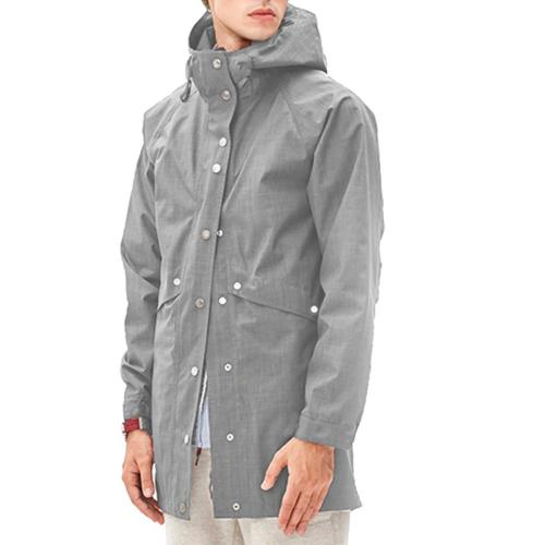 Romanstii XXL rain Coat Long Mens Windproof Windbreaker Wate