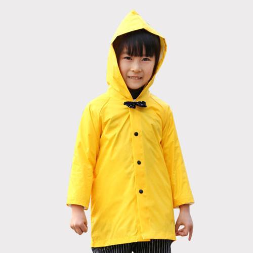 Yellow Girls Coat Jacket Poncho