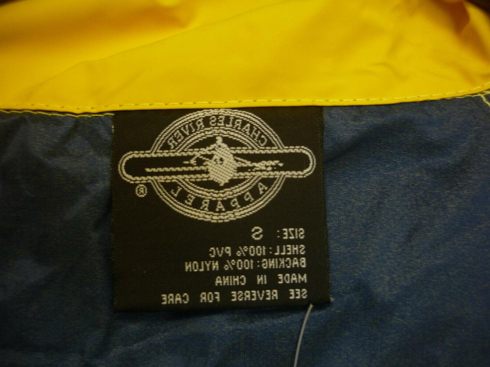 Charles River Zipper Coat New With Tags Small