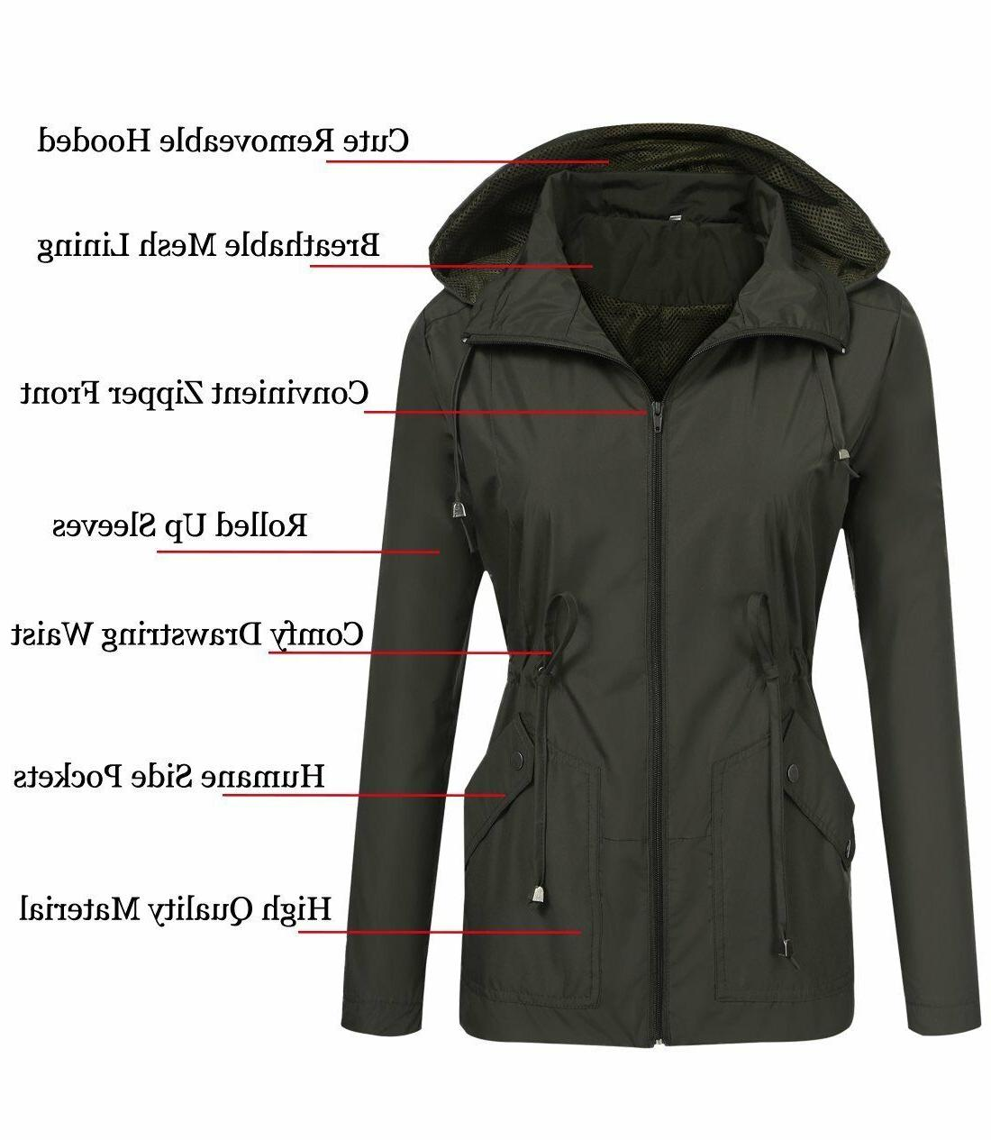 zhenwei Jacket Waterproof with Windbreaker Outdoor