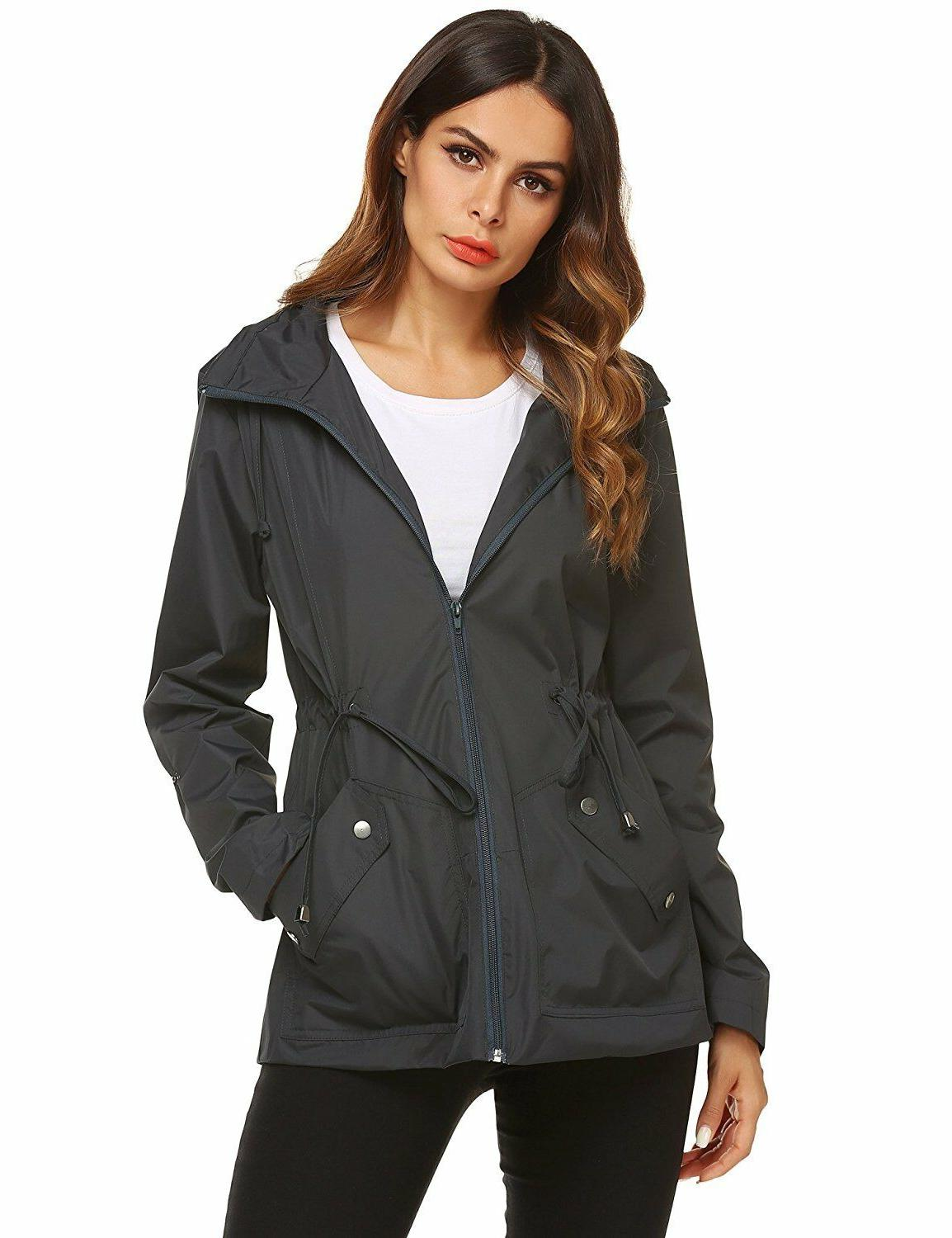 zhenwei Jacket Waterproof Hood Outdoor Active
