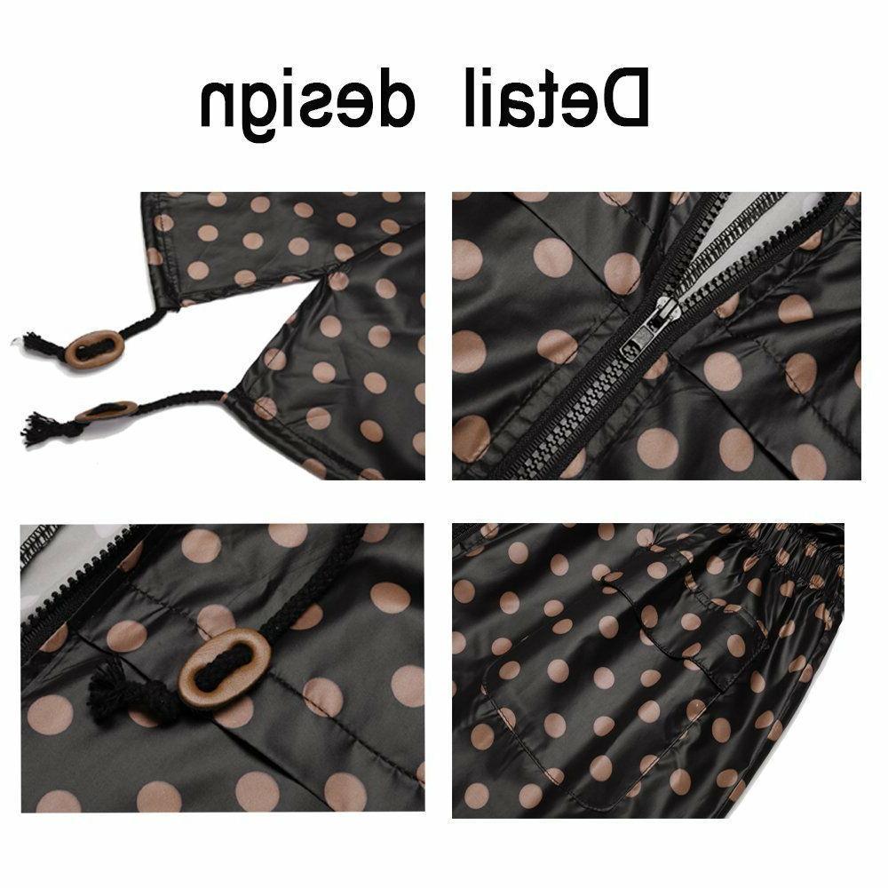 zhenwei Raincoat Hooded Long Rain