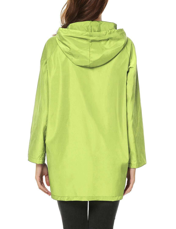ZHENWEI Rain Jacket Waterproof Outdoor