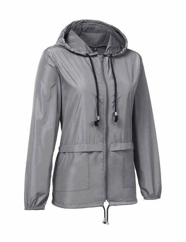 Zhenwei Lightweight Jackets Waterproof Hooded