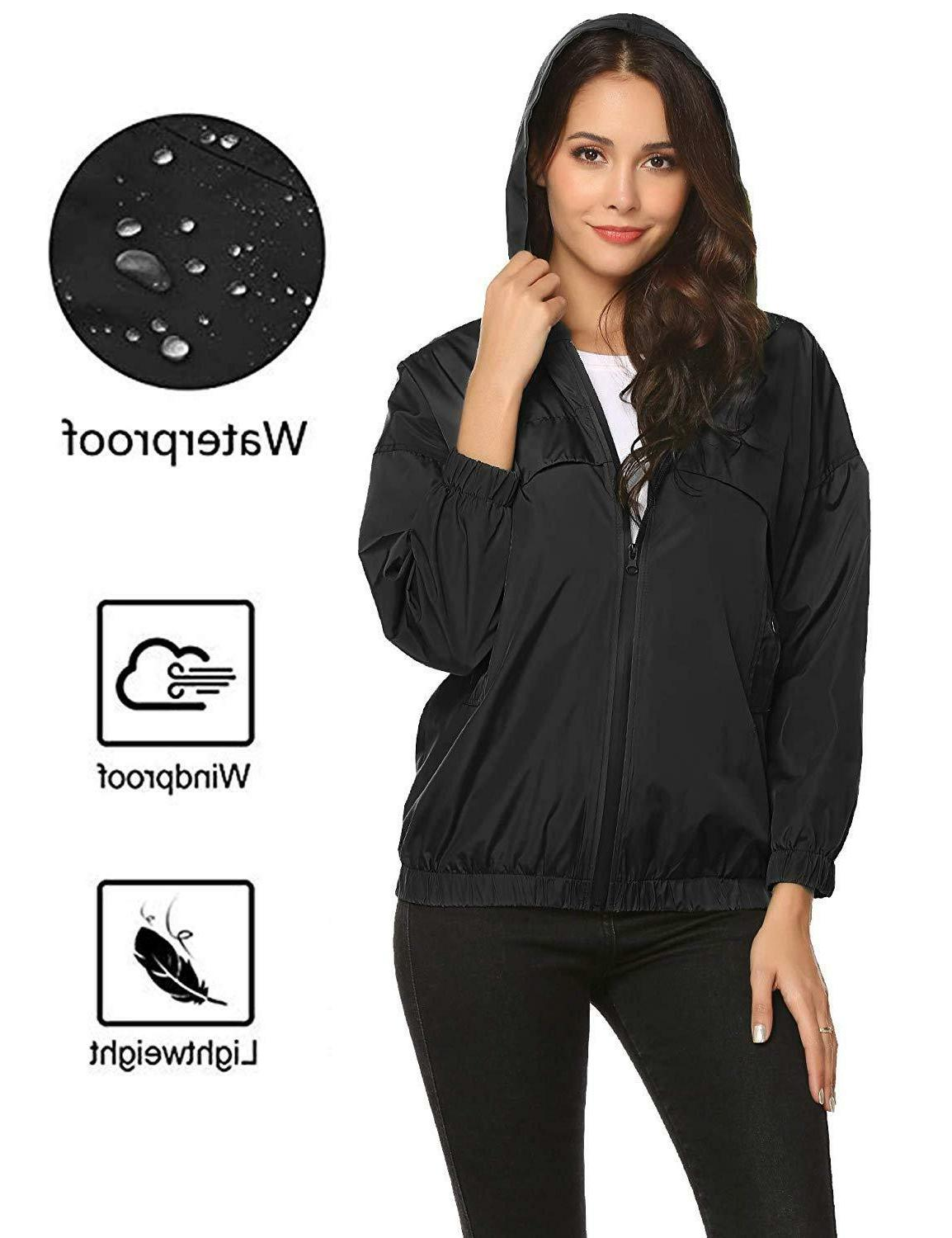 ZHENWEI Lightweight Waterproof Jacket Rain