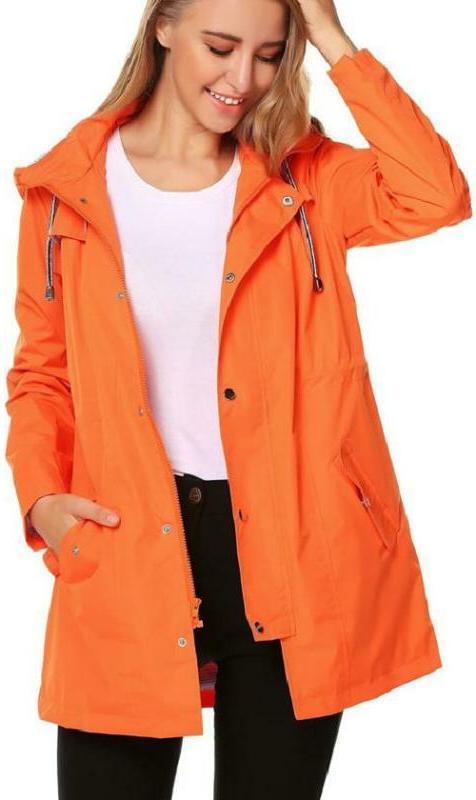 Zhenwei Hooded Waterproof Jacket