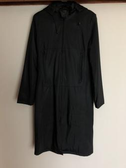 OUTER EDGE @ TOP SHOP Ladies Brand New Black Raincoat Jacket