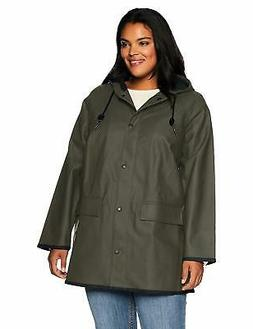 Levi's SZ Women's Plus Rubberized Rain Jacket - Choose SZ/Co