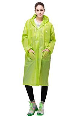 Aircee Lightweight Easy Carry Poncho Wind Hooded Jacket Rain