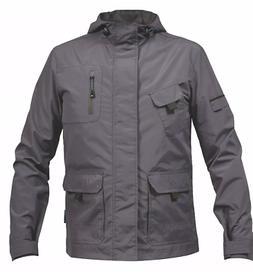 Rigour Lightweight Waterproof Jacket Rain Coat/Work Coat Men