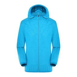 Lanbaosi Women's Lightweight Windbreaker Skin Jacket Rain Co