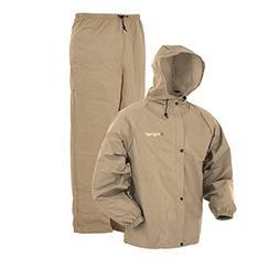 Frogg Toggs Pro Lite Rain Suit, Khaki