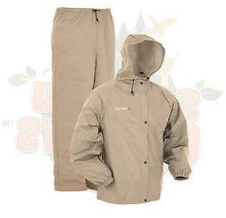 Frogg Toggs Pro Lite Rain Suit Khaki - S/M PL12140-04S/M