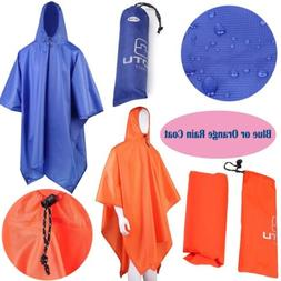 Long Rain Coat Outdoor Waterproof Rain Poncho Backpack Cover