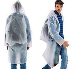 Women Man Long Raincoat EVA Thick Rainwear Universal Rain Po