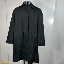 LONDON FOG Maincoats Vtg RAINCOAT Rain Trench Coat Mens 38L