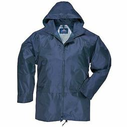 Portwest Men's Classic Rain Jacket Navy M
