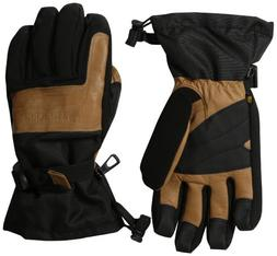 Carhartt Men's Cold Snap Insulated Work Glove, Black/Barley,