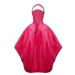 Balnna Men Rain Poncho and Zipper Waterproof Raincoat for Ou