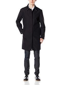 Cole Haan Men's Bonded Seam Sealed Rain Jacket, Black, Large
