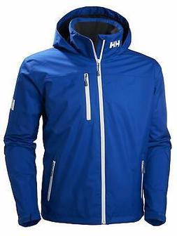 Helly Hansen Men's Crew Hooded Midlayer Jacket, 56 - Choose
