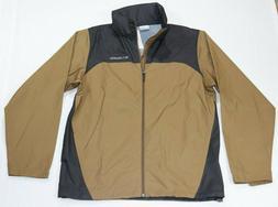 Columbia Men's Glennaker Lake Rain Jacket Brown/Black Size M