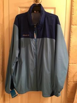 Men's COLUMBIA  Glennaker Lake   Rain/Wind Jacket Sz XXL  Bl