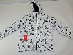The North Face Men's Millerton Rain Jacket Size XL NWT White