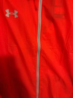 Under Armour Men's Rain Coat Jacket XL Water Resistant Windp