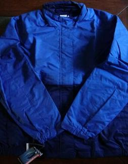 Totes Men's Size XL RAINCOAT navy blue VENTED Full Zip Jacke