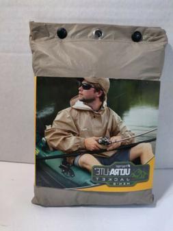Frogg Toggs Men's Ultra-Lite2 Hooded Waterproof Packable Rai