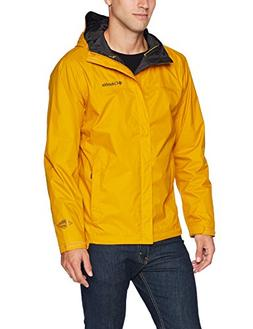 Columbia Men's Watertight II Rain Jacket, Golden Yellow, Sma